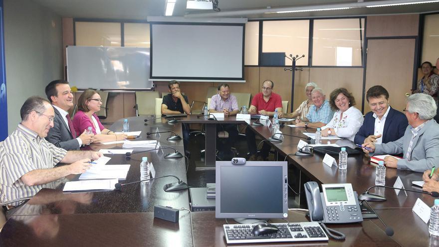 Reunión entre Agricultura y representantes de la Coordinadora de Organizaciones de Agricultores y Ganaderos (COAG) a nivel nacional