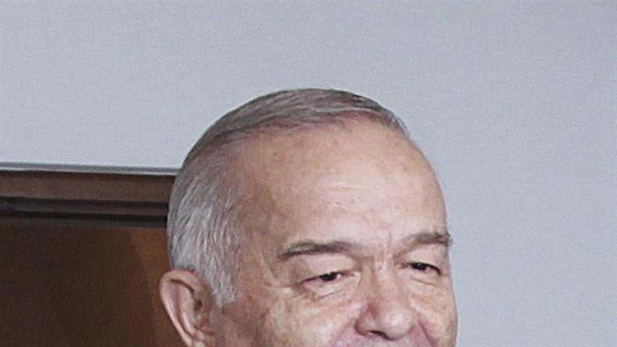 El Gobierno de Uzbekistán anuncia la muerte de Islam Karímov