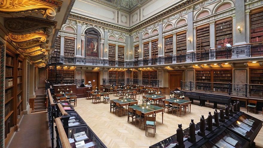 University Library of Eötvös Loránd University in Budapest, Hungary