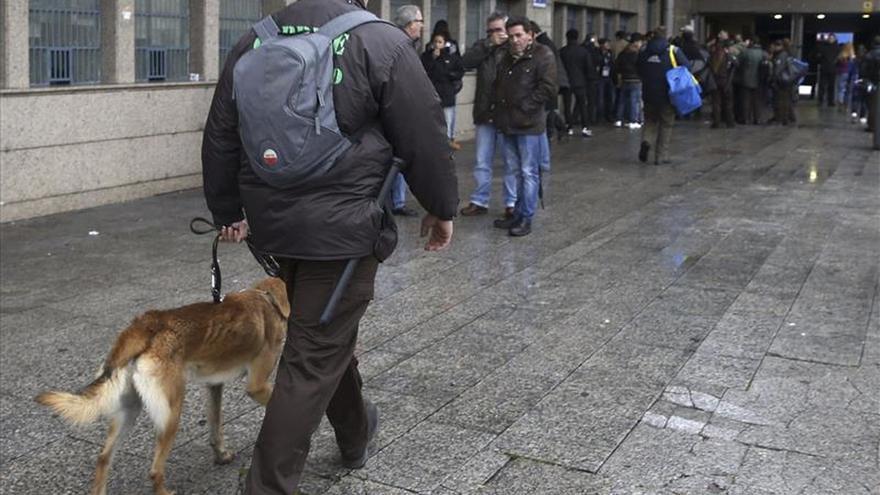 El Atlético-Galatasary contará con un 30 por ciento más de policías
