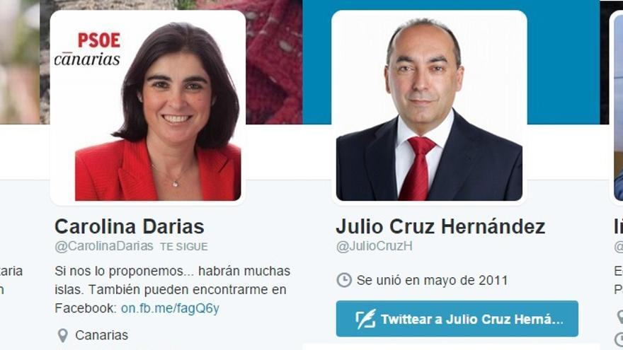 Candidatos del PSOE de Canarias al Parlamento autonómico.