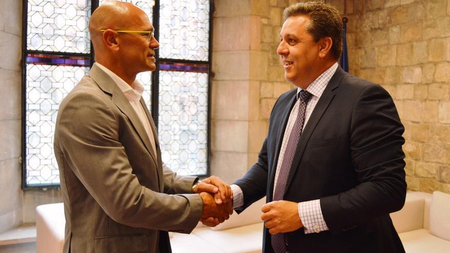 Sergi Marcén toma posesión como delegado del Govern en el Reino Unido e Irlanda