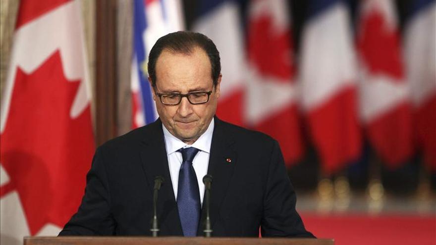 Solo uno de cada diez franceses ve positivo el balance de Hollande