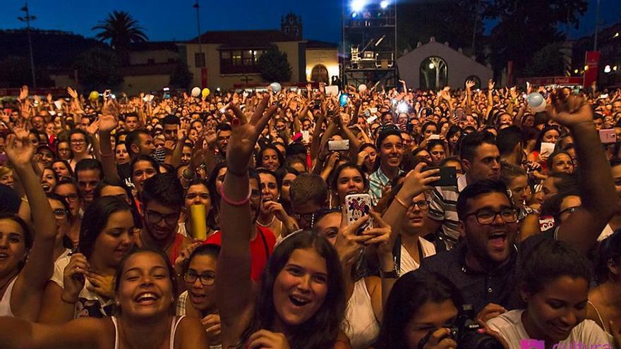La Plaza del Cristo se ha convertido en espacio frecuente para grandes citas musicales como el Festival Latino, o la más reciente actuación de Pablo Alborán
