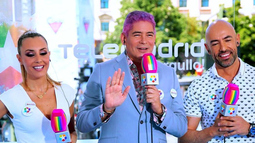 Telemadrid Qué Orgullo - Berta Collado, Boris Izaguirre y Emilio Pineda