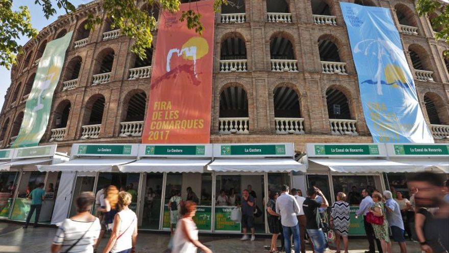 Fira de les Comarques, en la Plaza de Toros de Valencia.