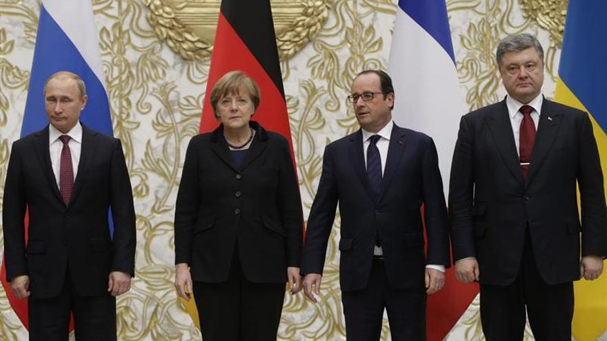Berlín rebaja las expectativas de la cumbre de Merkel, Putin y Hollande sobre Siria