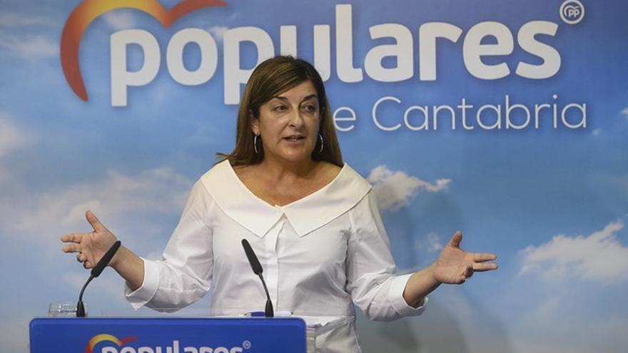 """Buruaga dice que la reunión de Revilla y Sánchez ha sido """"un acto electoral de dos aliados políticos"""""""