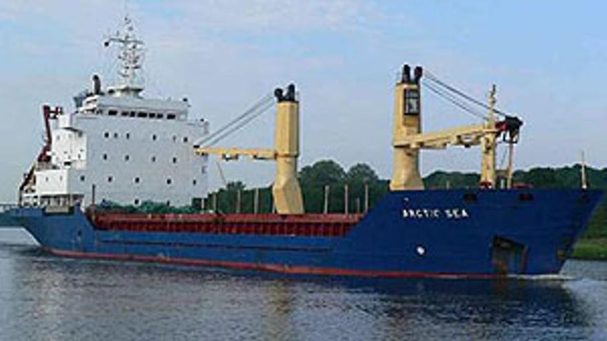 El buque 'Artic Sea'. (CANARIAS AHORA)