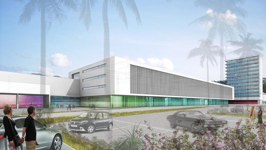 Proyecto de la Ciudad Hospitalaria Ricardo Martinelli, Panamá / Imagen: Taller de Arquietectura Sánchez-Horneros