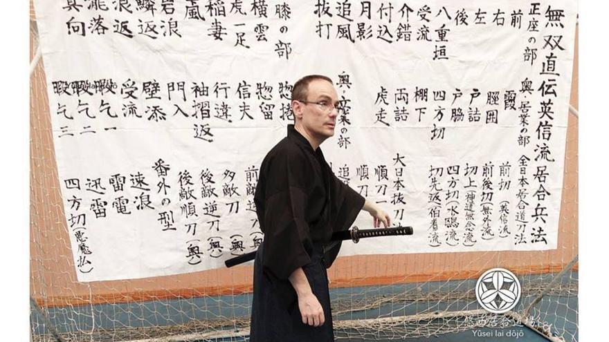 José Antonio Martínez-Oliva Puerta, escritor y maestro de iaidô
