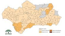 Andalucía pierde un 15,56% de agua en un año y tiene siete comarcas agrarias en sequía meteorológica severa