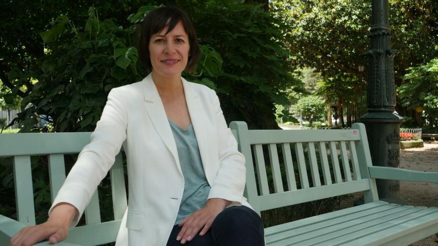 Ana Pontón, candidata del BNG a la presidencia de la Xunta de Galicia