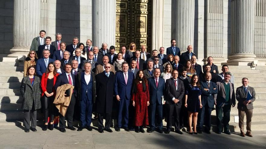 Representación valenciana para la reforma del Estatut