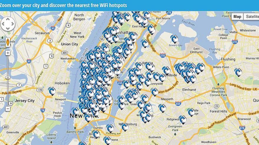 En todos estos puntos de Nueva York, supuestamente, existían puntos de conexión a internet habilitados por Gowex (Foto: sam_churchill | Flickr)