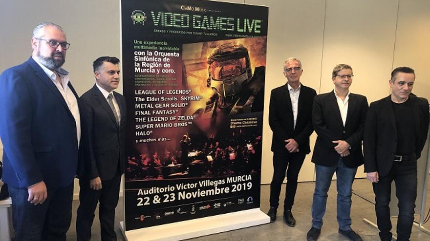 Presentación de los conciertos 'Video Games Live'