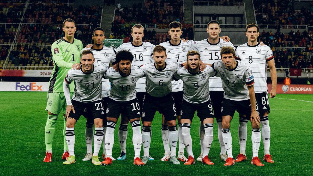 Alemania, la primera selección europea clasificada a Qatar 2022