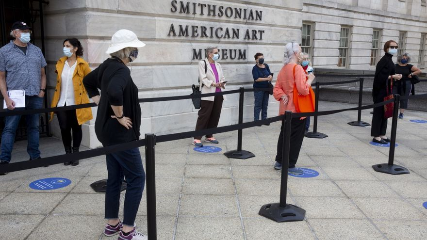Washington vuelve a cerrar sus museos Smithsonian por la nueva ola de covid-19