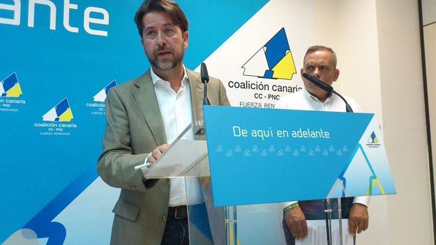 El candidato de CC al Cabildo, Carlos Alonso.