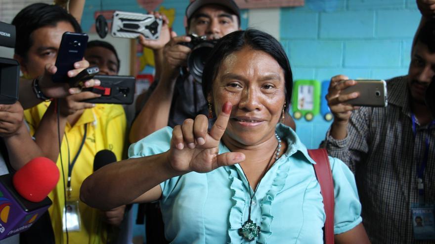 Excandidata presidencial indígena de Guatemala exige un Estado Plurinacional