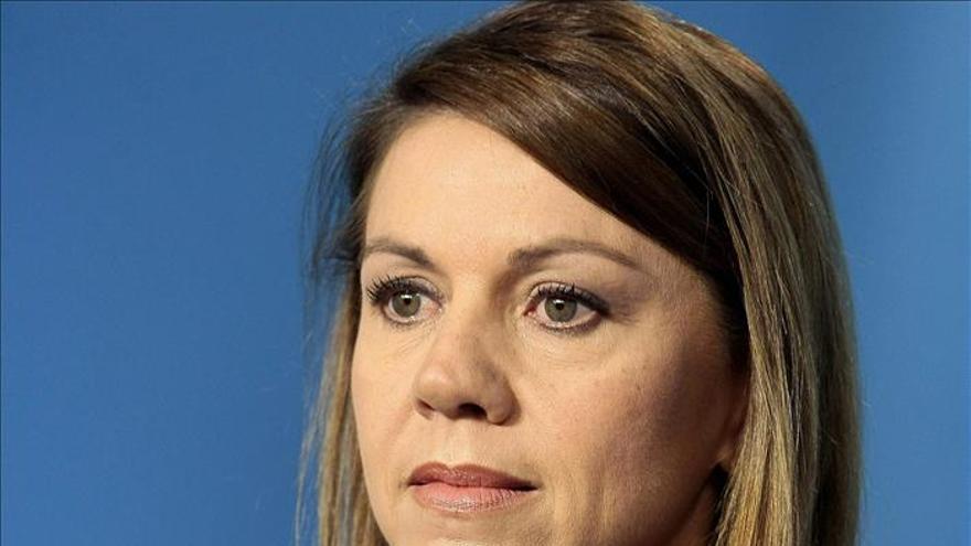Cospedal ve compatible un discurso nacional en el PP con las diferencias de los barones