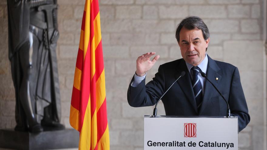 Artur Mas admite que en un momento inicial una Cataluña independiente quedaría fuera de la UE