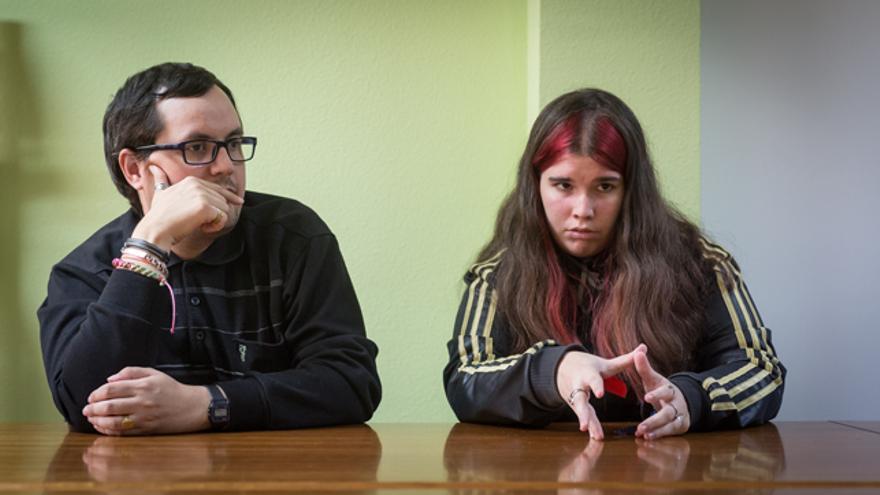Fernando y Estefanía trabajan ahora en Plena Inclusión Aragón