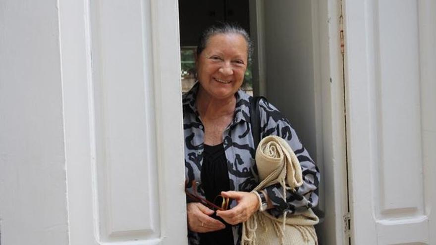 Elsa López participa este año en el Festival Internacional de Poesía de Granada.