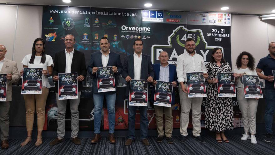 Presentación del 45 Rallye La Palma Isla Bonita-Trofeo Cicar.