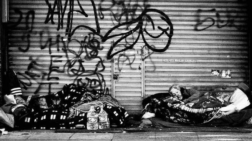Atenderán a gente que lleva muchos años viviendo en la calle.