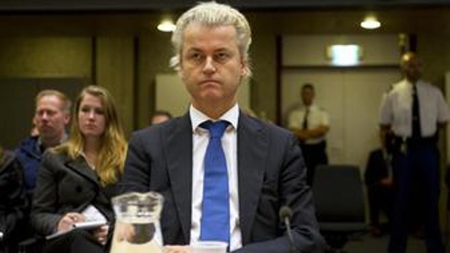 Líder islamófobo holandés Geert Wilders
