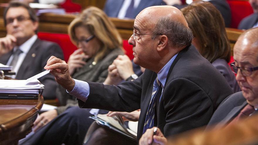 Boi Ruiz, durant un ple del Parlament / CARMEN SECANELLA