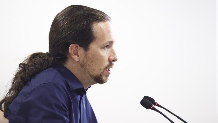 """Pablo Iglesias dice sobre la reforma del TC que """"las amenazas"""" no ayudan a que los ciudadanos entiendan"""