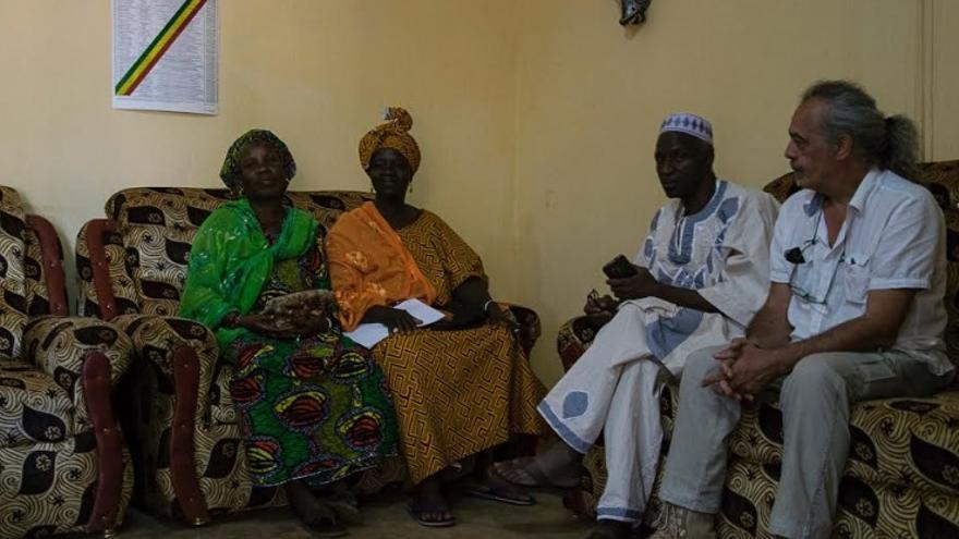 Javier Martín Pérez, cooperante del Movimiento Extremeño por la Paz, trabaja en diferentes proyectos en Mali