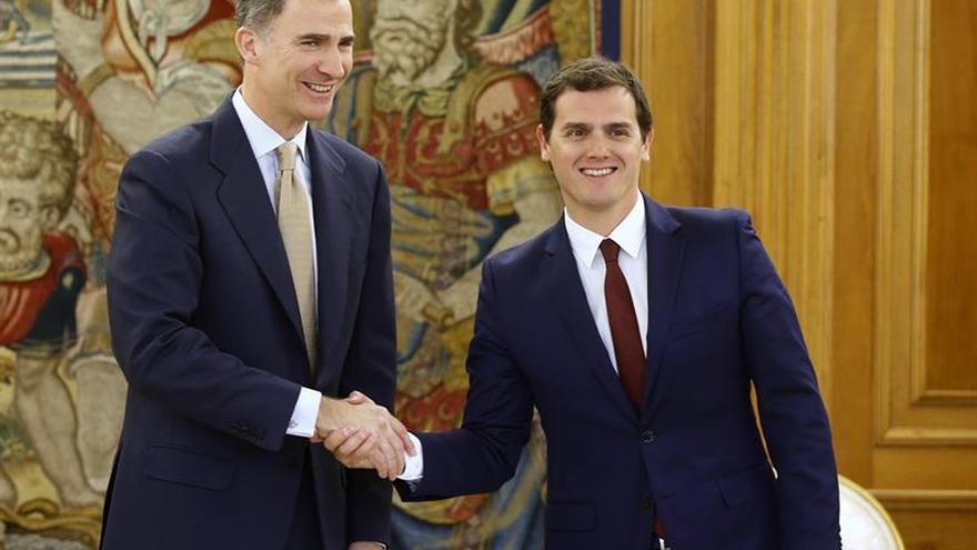 Rivera pedirá ayuda al Rey para convencer a PP y PSOE en búsqueda de cercanía