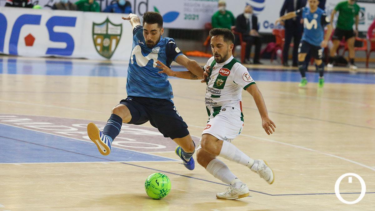 Jesulito, en el duelo con el Inter en Vista Alegre.