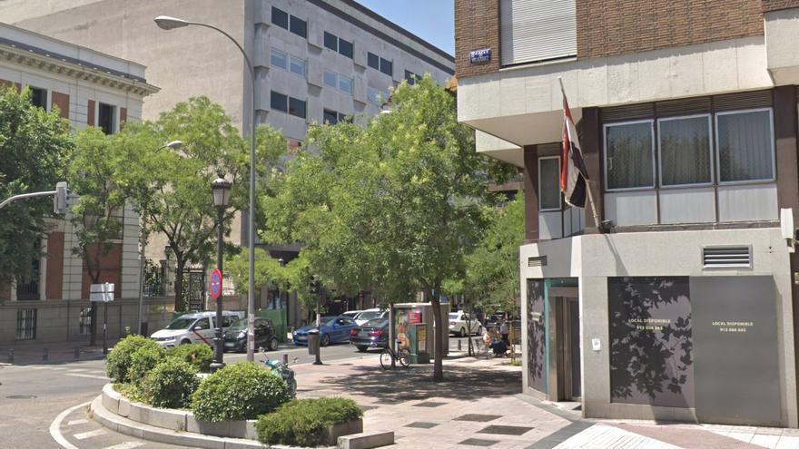 Embajada de Egipto en el centro de Madrid