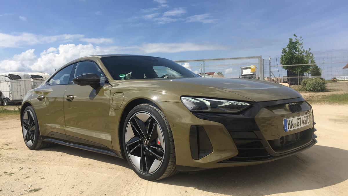 Nuevo Audi e-tron GT.
