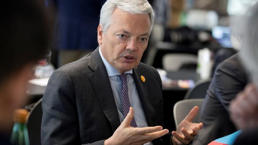 El comisario europeo de Justicia, el belga Didier Reynders. EPA/MICHAEL REYNOLDS/Archivo