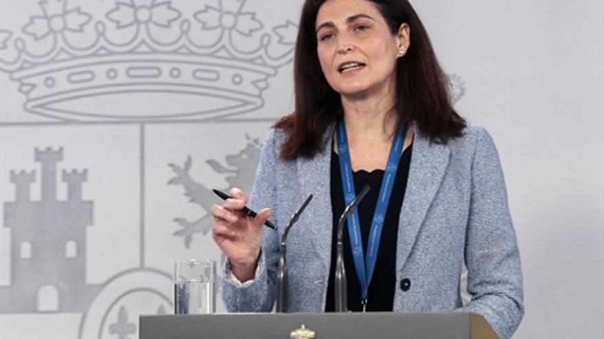 La directora del Instituto de Salud Carlos III, Raquel Yotti, en rueda de prensa tras la reunión del Comité Técnico de Gestión del Coronavirus.