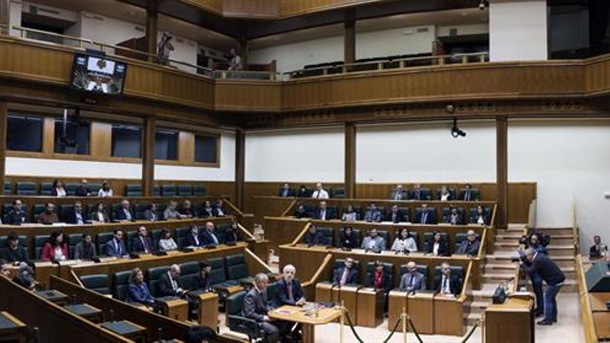 El pleno de investidura del lehendakari será los días 23 y 24 de noviembre