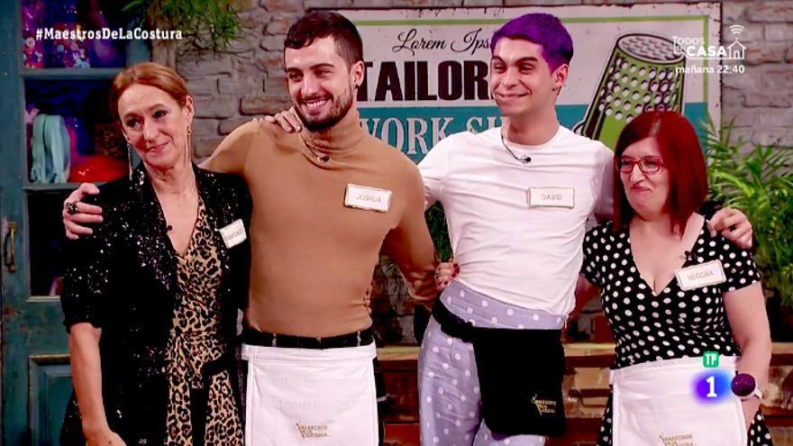 Maestros de la costura 3 ya tiene finalistas: Margarita, Begoña, David y Joshua