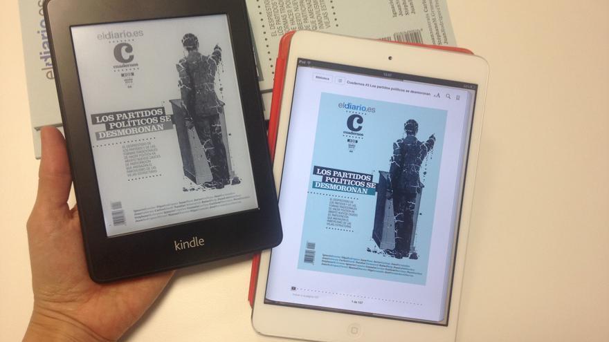 Cuadernos 3, en versión para Kindle y iPad