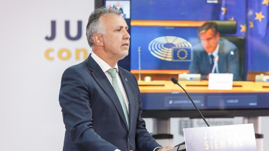 """Torres demanda ante el Parlamento Europeo una solidaridad """"obligatoria"""" de los Estados miembros en la acogida de migrantes"""