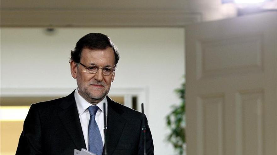 Rajoy le desea una rápida recuperación a Ángela Merkel