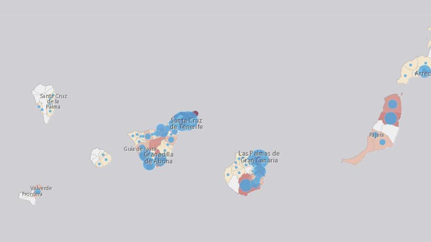 Puerto del Rosario protagoniza la mayor subida de contagios de todo el país y Santa Cruz de Tenerife escala al quinto puesto