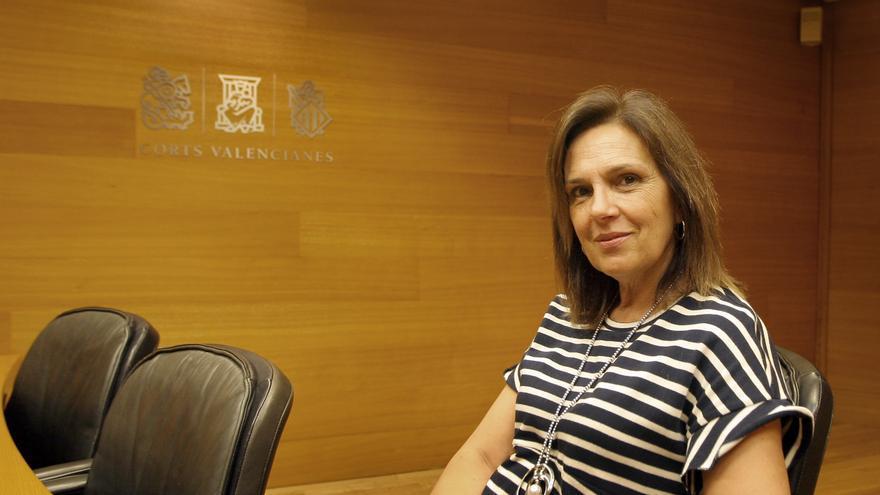 Carmen Martínez, vicepresidenta de las Corts Valencianes.