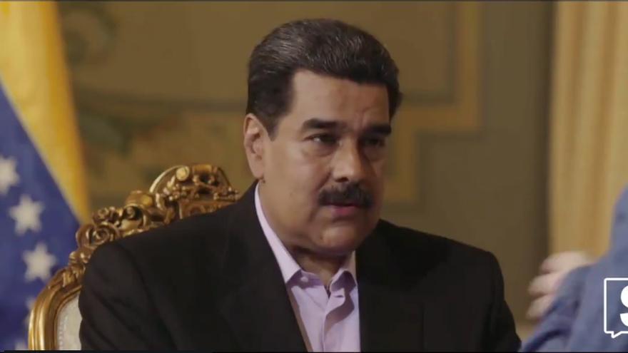 Imagen de Nicolás Maduro durante la entrevista realizada por Jordi Évole.