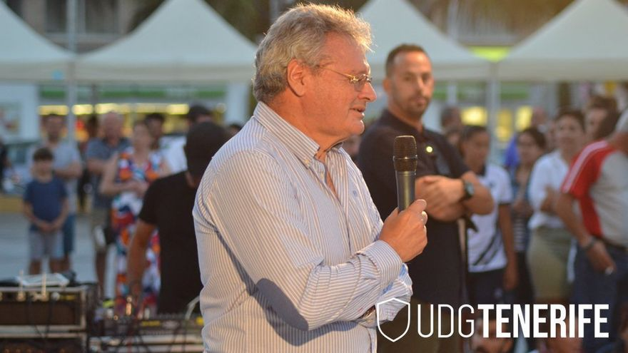 Sergio Batista, presidente de la UDG Tenerife Egatesa.