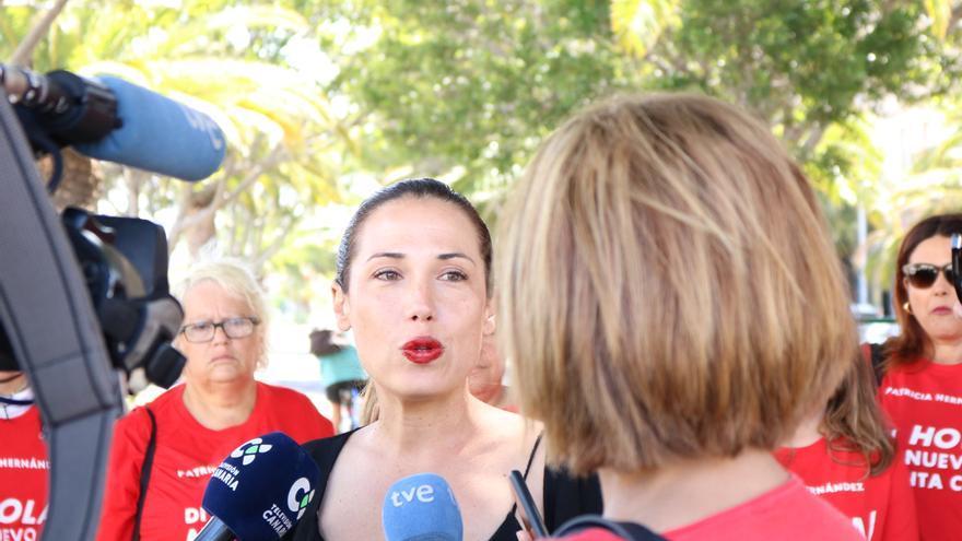 Patricia Hernández, posible alcaldesa del PSOE en Santa Cruz de Tenerife